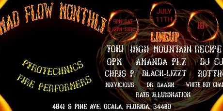 Mad Flow Monthly July Edition tickets