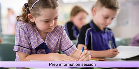 Prep information session tickets
