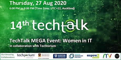 TechTalk #14 - Women in IT tickets