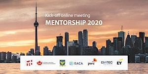 Summer / Fall 2020 Mentorship Program