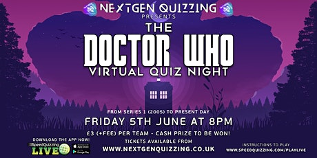 The Doctor Who Virtual Quiz tickets