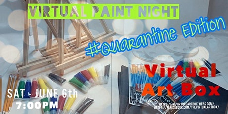 Virtual Paint Night #Quarantined edition hosted by The Virtual Art Box tickets