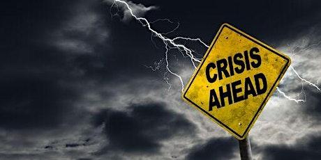 Crisis Communications 101 webinar tickets