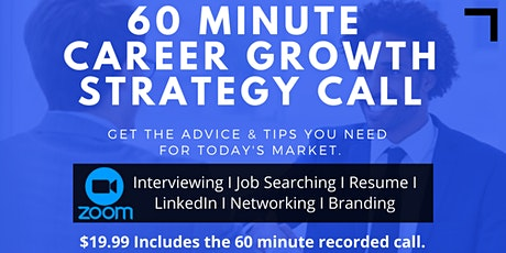 Career Growth Strategy Call tickets