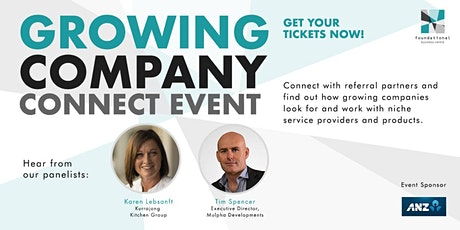 Growing Companies Connect Event - Friday 16th October tickets