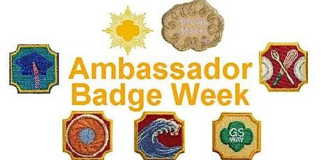 Ambassador Virtual Badge Week Tickets