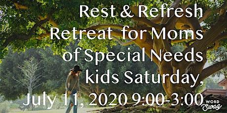 Rest & Refresh Retreat tickets