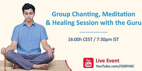 Group Chanting, Meditation & Healing Session with the Guru tickets
