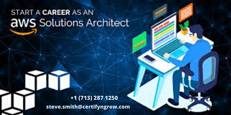 AWS Solution Architect 4 Days Certification Training in Amador City, CA,USA tickets