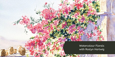 Watercolour Florals with Roslyn Hartwig (Thursday mornings, 8 Wk Course) tickets