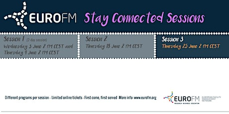 EuroFM Stay Connected Sessions - Session 3 tickets