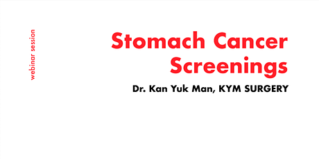 [FREE WEBINAR] Consult a Surgeon now for Stomach Cancer Screening tickets