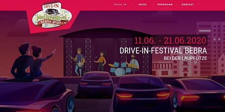 Drive-In-Festival Bebra vom 11. -21. Juni 2020 tickets