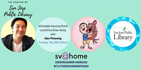 Lunchtime Draw-Along with Alex Pimwong - Affordable Housing Month 2020 tickets
