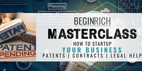 How To Startup your Business With Patents | Contracts | Legal Help & More tickets