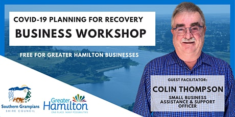 Planning For Recovery Workshop -Hamilton tickets