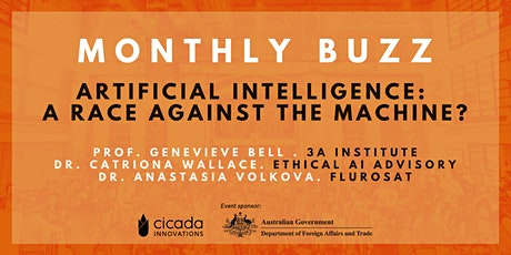 MONTHLY BUZZ   Artificial Intelligence: A Race Against the Machine? tickets