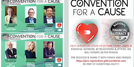 CONVENTION FOR A CAUSE!  PRE-REGISTRATION - COVID-19 tickets