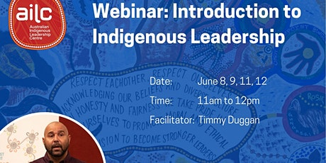 Webinar: Introduction to Indigenous Leadership tickets