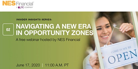 Insider Insights Webinar Series: Navigating a New Era in Opportunity Zones tickets