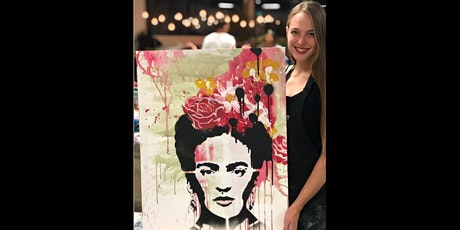 Frida Kahlo Paint and Sip Brisbane 17.7.20 tickets