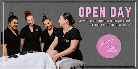 Australian College of Beauty Therapy OPEN DAY JUNE 2020 tickets