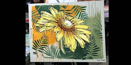 Sunflower Paint and Sip Party 31.7.20 tickets