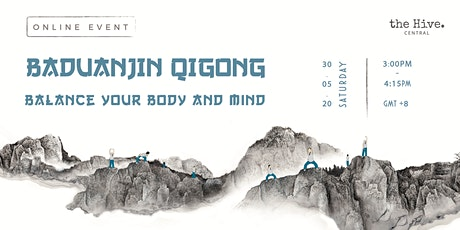 Online: Baduanjin Qigong - Balance Your Body and Mind tickets