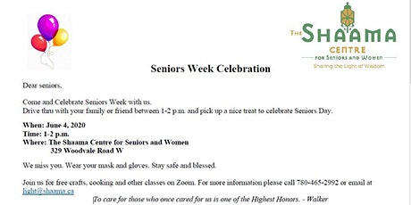 Seniors Week Celebration tickets