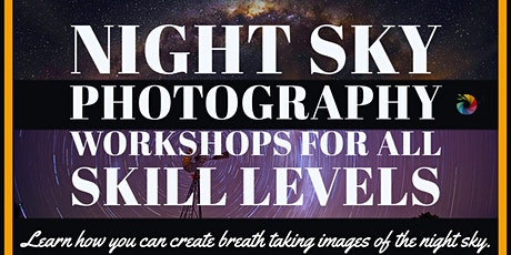 Night sky photography workshop tickets