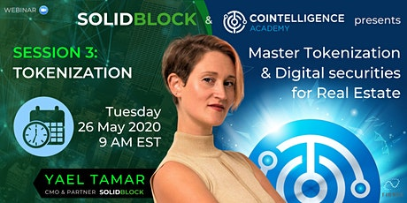 Master Tokenization and Digital Securities for Real Estate tickets