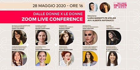 DALLE DONNE X LE DONNE - LIVE CONFERENCE tickets