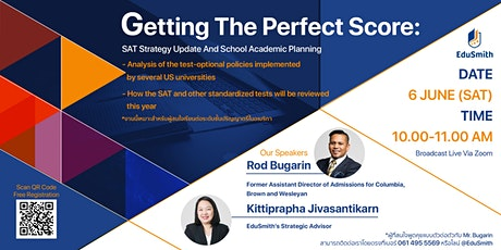 Getting The Perfect Score: SAT Strategy Update And School Academic Planning tickets