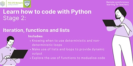 Learn how to code with Python (Stage 2) tickets