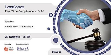 LawSonar: Real-Time Compliance with AI biglietti