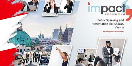 2-Day Vienna IMPACT Presenting - Public Speaking Class tickets
