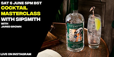 LDC X Sipsmith : Live Cocktail Masterclass tickets