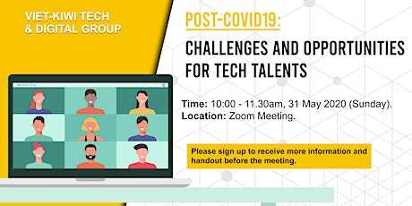 Post-covid19: Challenges and Opportunities for Tech Talents tickets