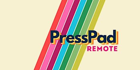 PressPad Speed Mentoring - July tickets