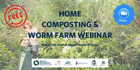 Waste Watchers Webinar: Home Compost & Worm Farms tickets