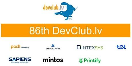 Analytics focused 86th ONLINE Devclub.lv tickets