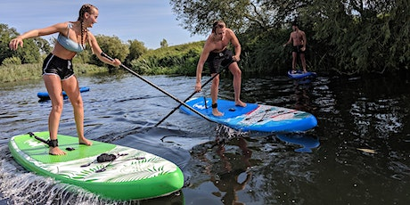 1-2-1 Paddleboarding River Trip For Beginners on The River Avon tickets