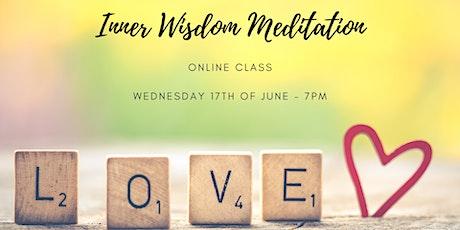 Inner Wisdom Meditation Online Class tickets