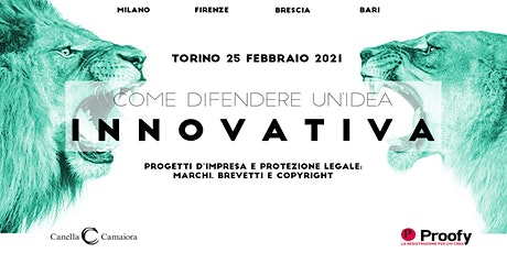 Come difendere un'idea innovativa® Tour 2020/2021 – Torino tickets