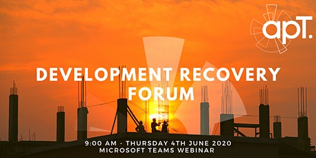 apT - Development Recovery Forum tickets