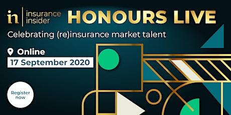 Insurance Insider Honours 2020, LIVE Ceremony tickets