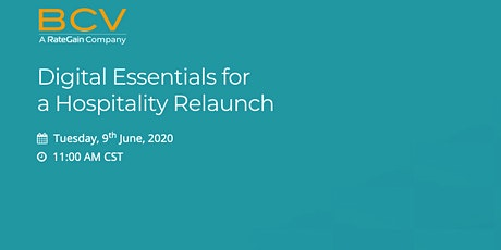 Digital Essentials for a Hospitality Relaunch tickets