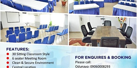 VIEWING  & INSPECTING VIRTUAL OFFICE & MEETING ROOMS tickets