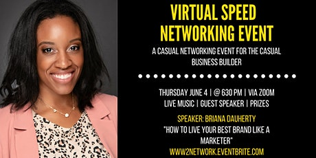 Virtual Speed Networking Event- A Witty Way to Network! tickets