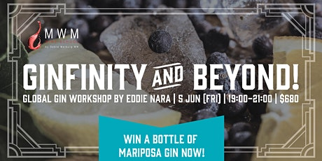 To Ginfinity & Beyond: Global Gin Workshop tickets
